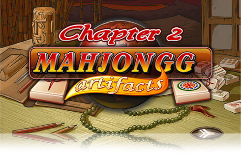 Screenshots of the Mahjong Artifacts Chapter 2 game for iPhone, iPad